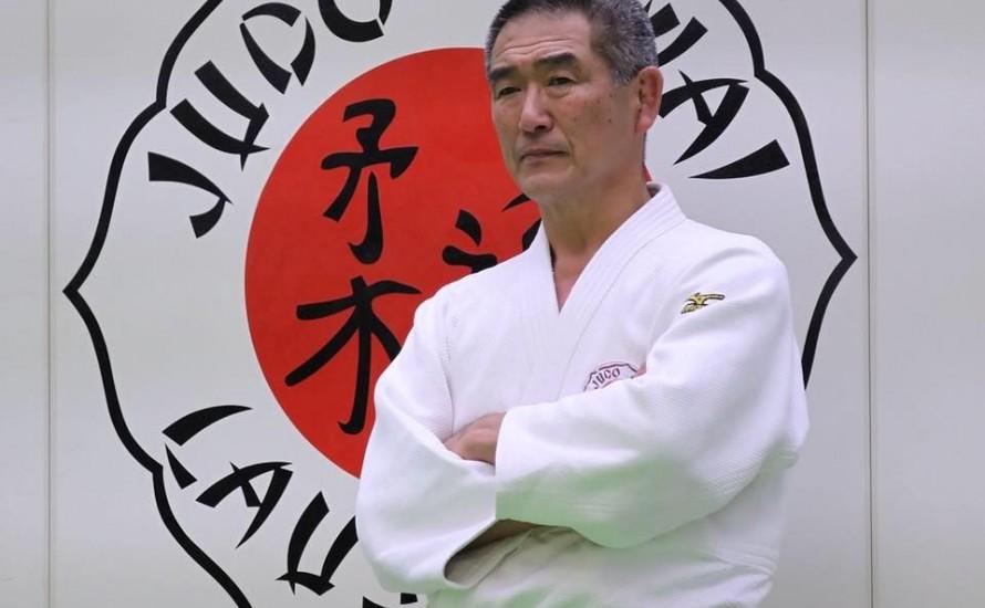 Un maître Japonais pour le stage de judo