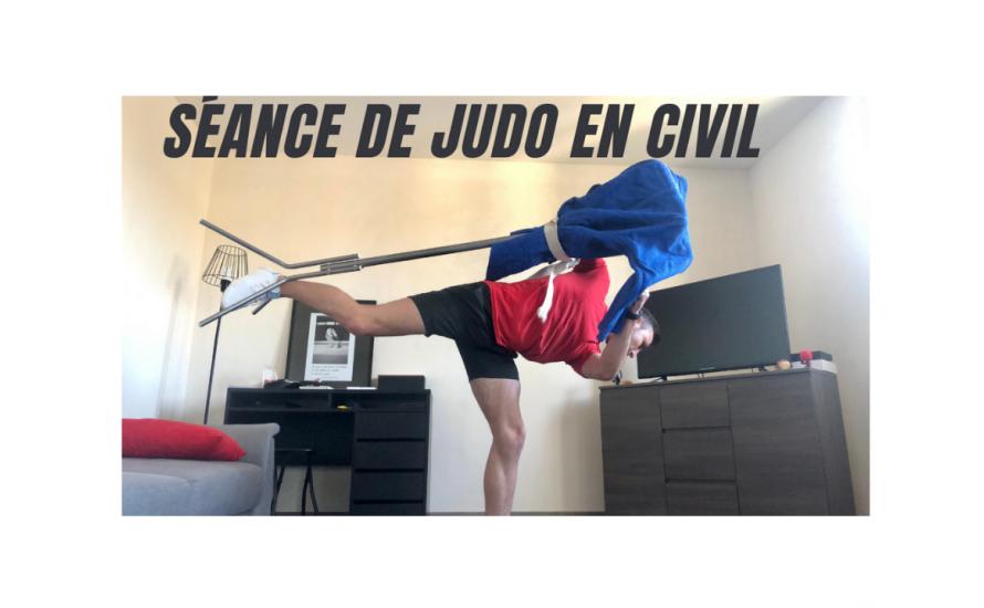 Des cours de judo et de Taïso sur internet