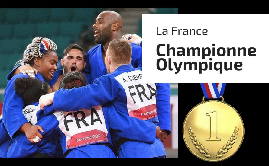 La France Championne Olympique