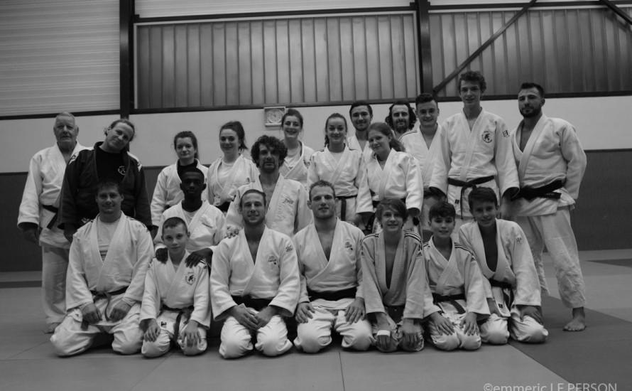 Le stage de judo contrarié par la COVID-19
