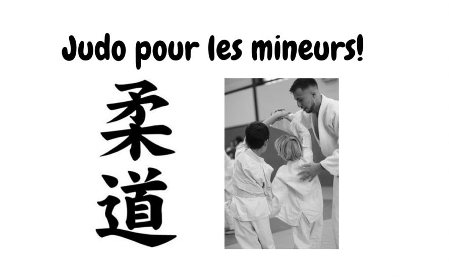 Judo pour les mineurs