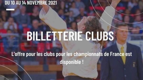 Ouverture billetterie Perpignan 2021 - Clubs